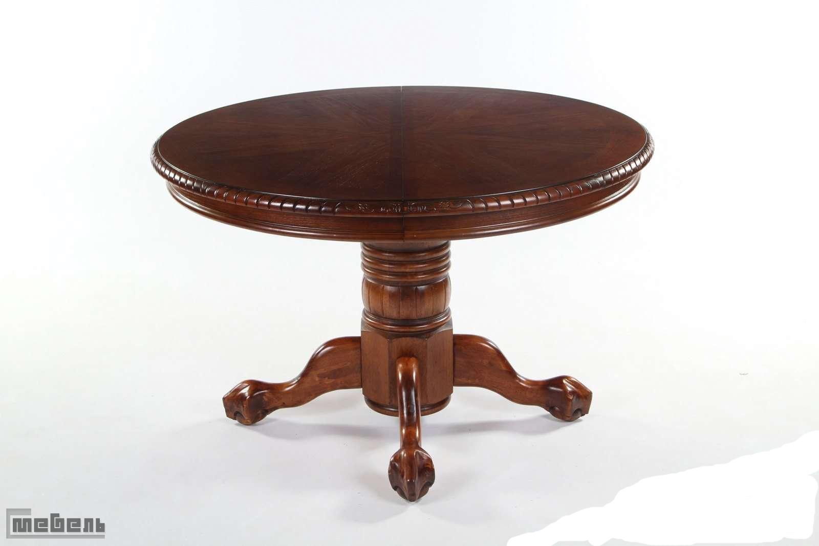 """Стол обеденный раскладной """"Chandler 4872 - SWC"""" (Тёмный орех)"""