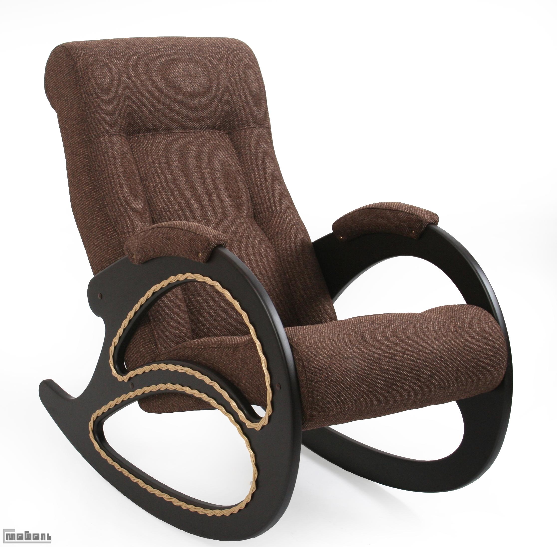 Кресло-качалка, модель 4 (013.004), ткань Мальта 15А