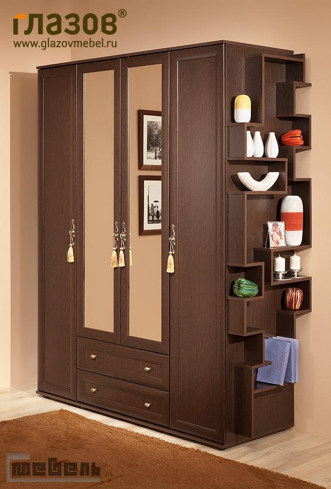 Шкаф для одежды и белья 1 глазов милана (спальня) - купить в.