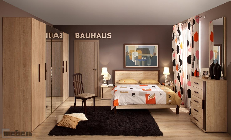 """Спальня """"BAUHAUS"""" (Баухаус) модульная - Комплектация №2"""