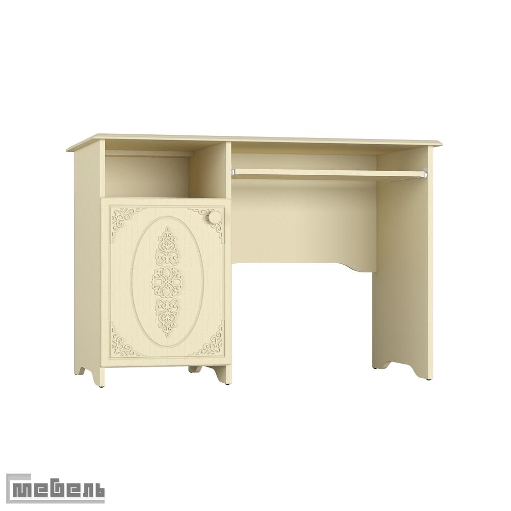 """Письменный стол АС-24.3К (левый/правый) """"Ассоль Плюс"""" (Ваниль)"""