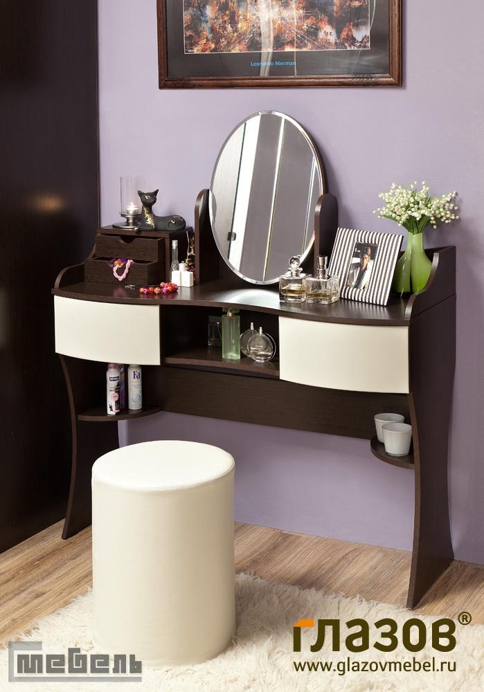 "Туалетный стол ""Амели 15"" с зеркалом"