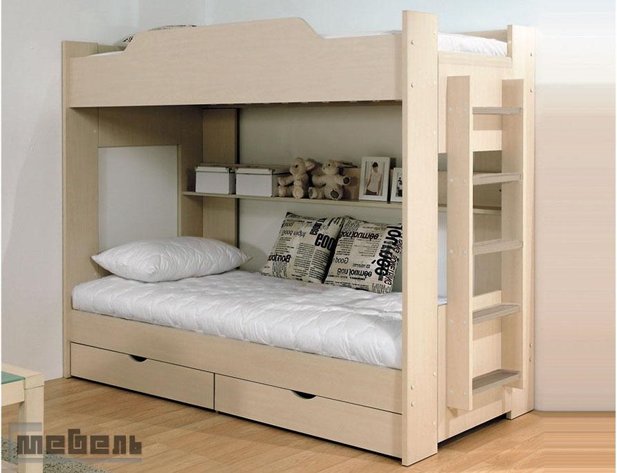 Кровать детская двухъярусная (Боровичи)