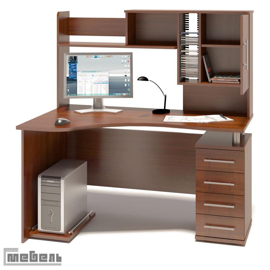 "Компьютерный стол ""кст-104 + кн-14"" с-мебель."