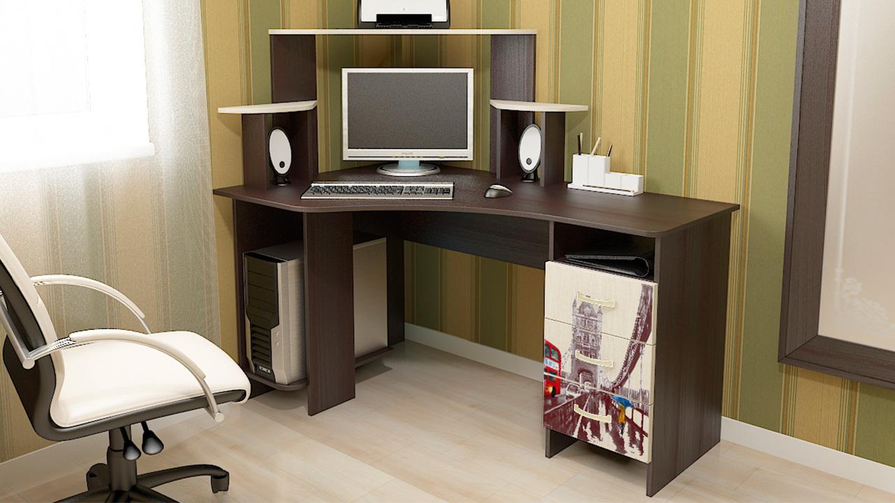 Компьютерные столы для дома фото