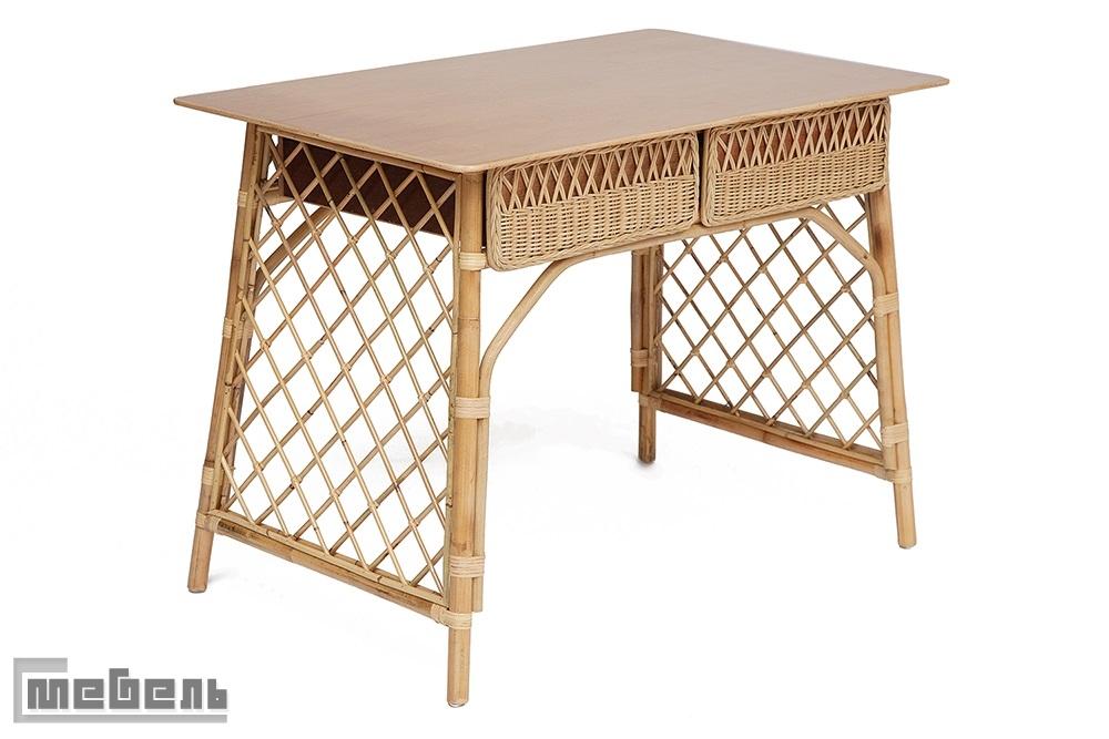 """Письменный стол """"Андерсен"""" (Andersen) нат. ротанг цвет:(натуральный)"""