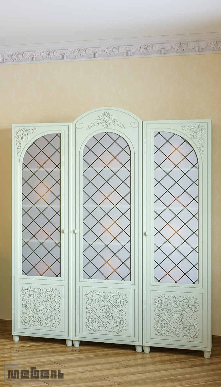 "Шкаф (витрина) ""Соня"" (модульная) - Комплектация № 01"