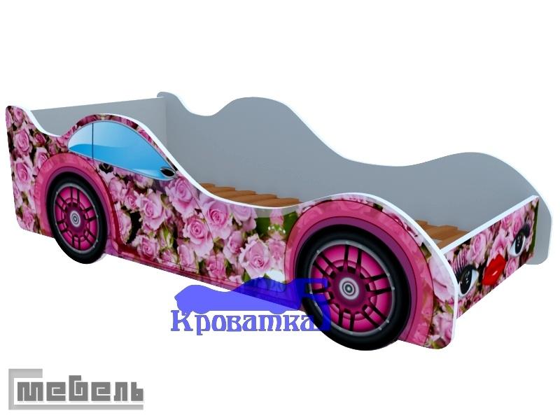 """Кроватка """"Розовые розы"""""""