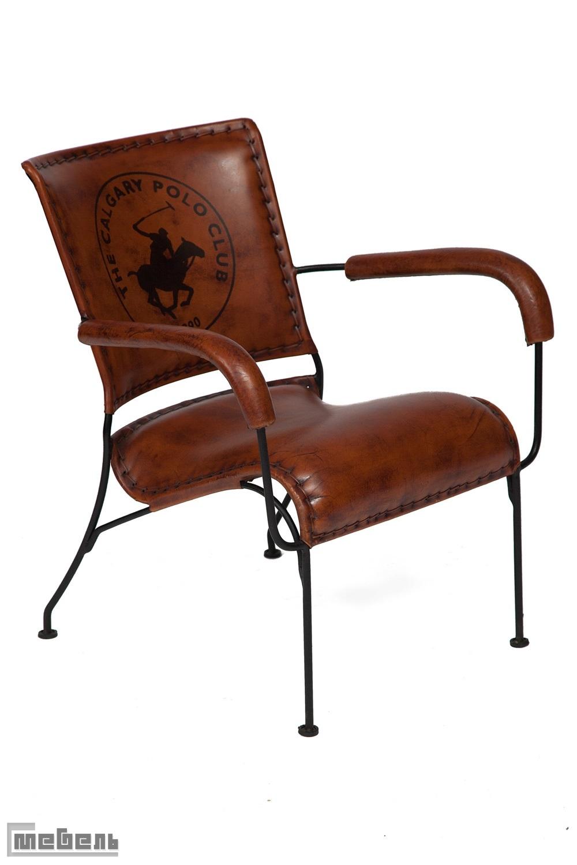 """Кресло """"Major"""" (mod. M-14530) из натуральной кожи буйвола"""
