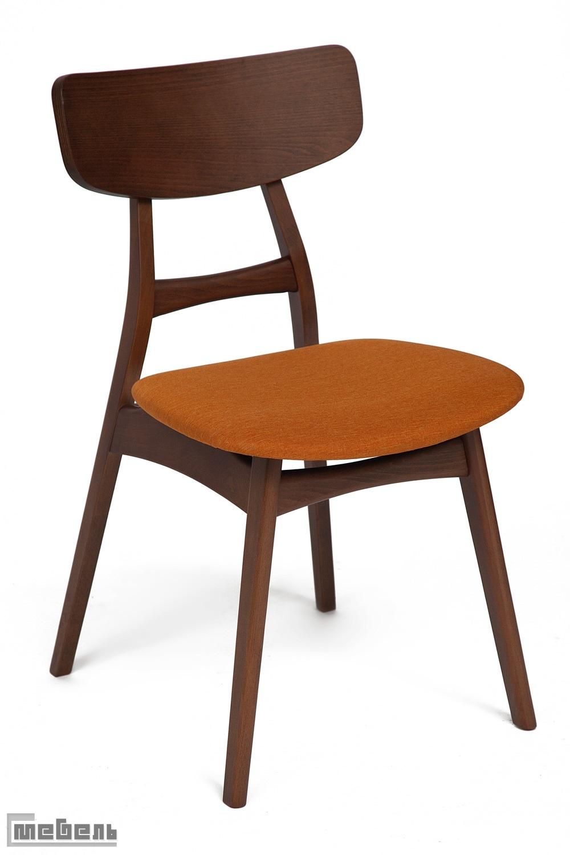 """Стул """"Рон"""" (Ron orange brown) мягкое сидение, цвет: Коричневый"""