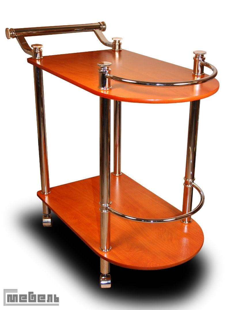 """Сервировочный столик на колёсиках """"SC 5038"""" (МДФ, Вишня)"""