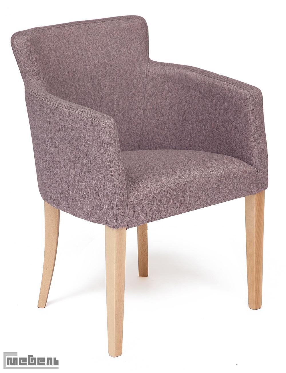 """Кресло """"Круна"""" (Kruna) ткань: (Розовый кварц)"""