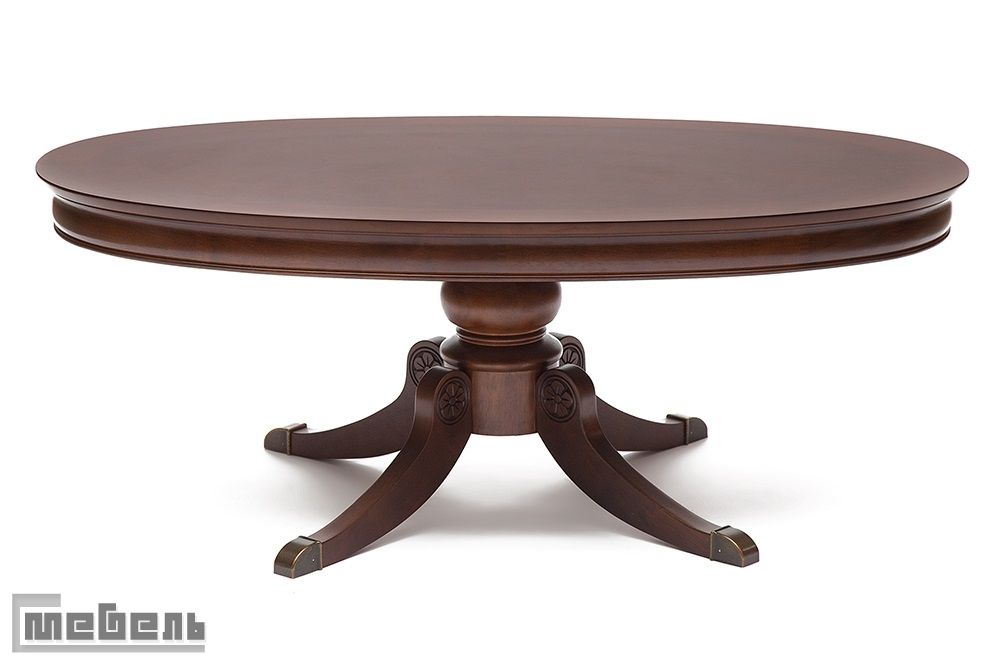 """Журнальный стол """"Боккаччо"""" (Boccaccio) цвет: Тёмный орех"""