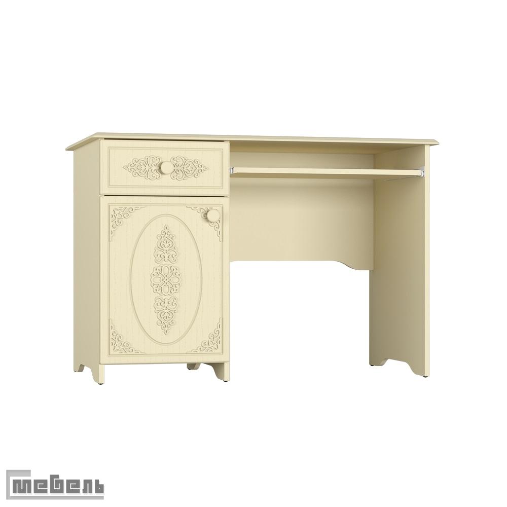 """Письменный стол АС-24.2К (левый/правый) """"Ассоль Плюс"""" (Ваниль)"""