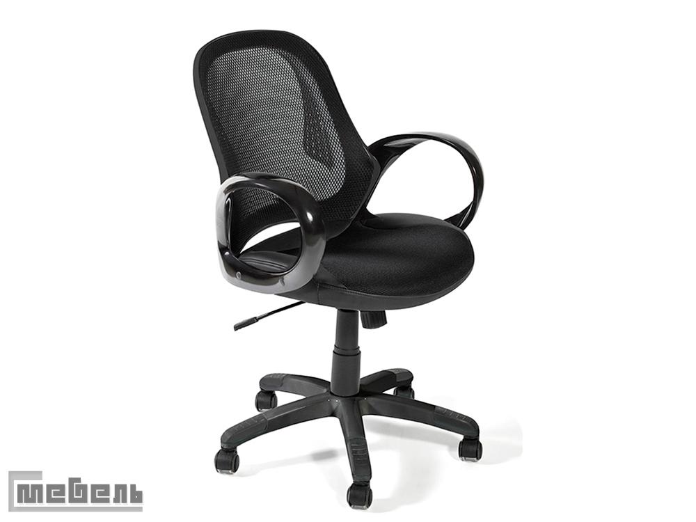 "Компьютерное кресло ""Монро"" (Monro) Пластик: Black-Black"
