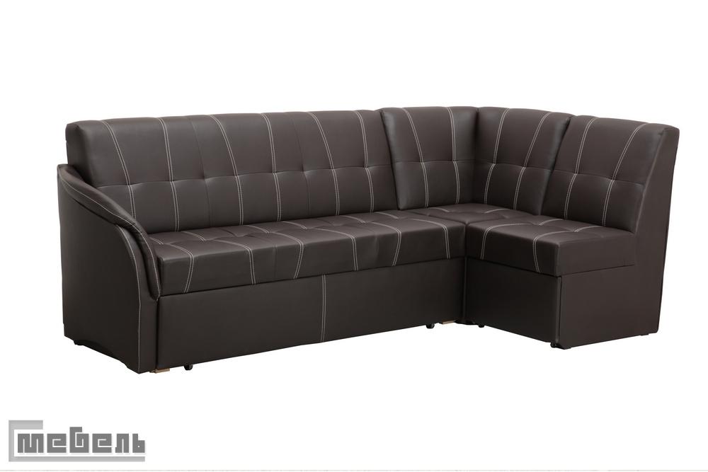 """Кухонный угловой диван со спальным местом Боровичи, со стяжкой """"Релакс"""""""
