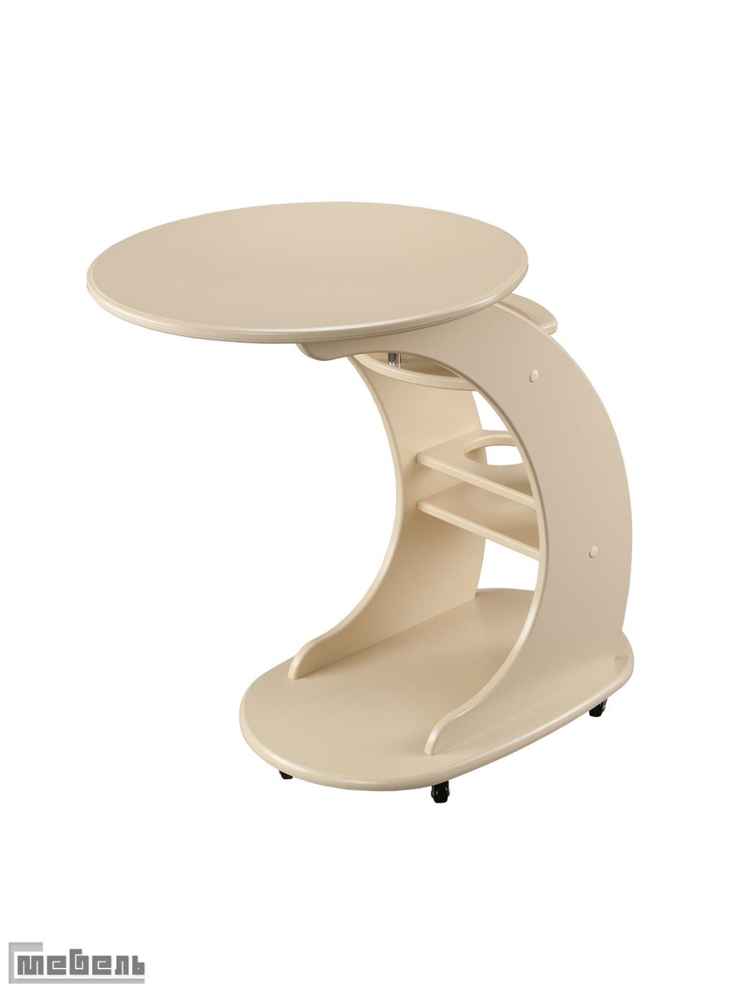 """Кофейный подкатной столик """"Люкс"""""""