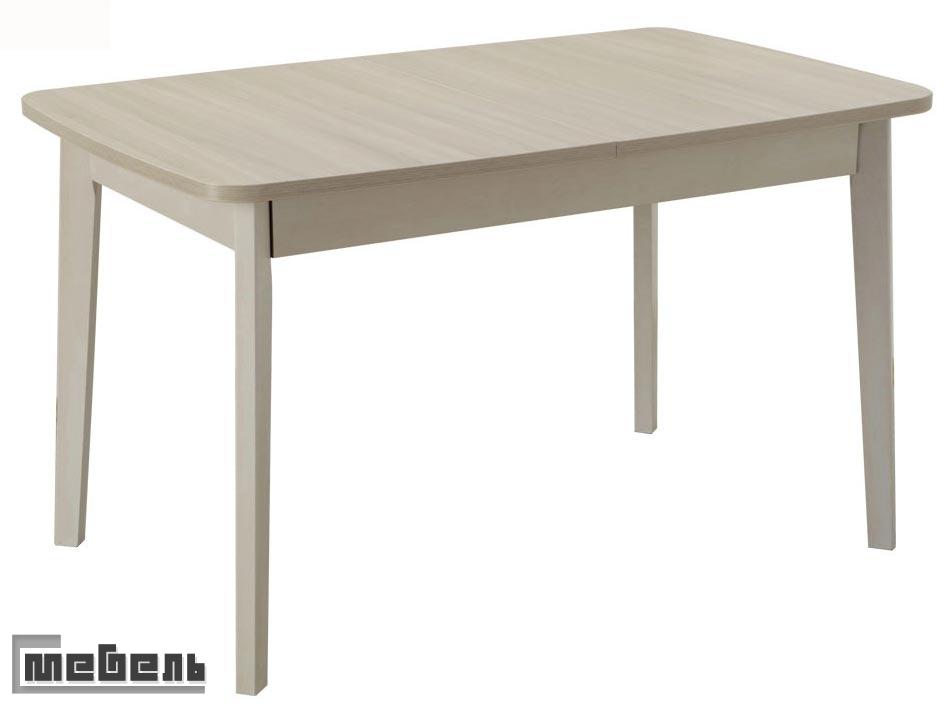 Стол раздвижной овальная крышка (ламино 1000 х 700 мм.)