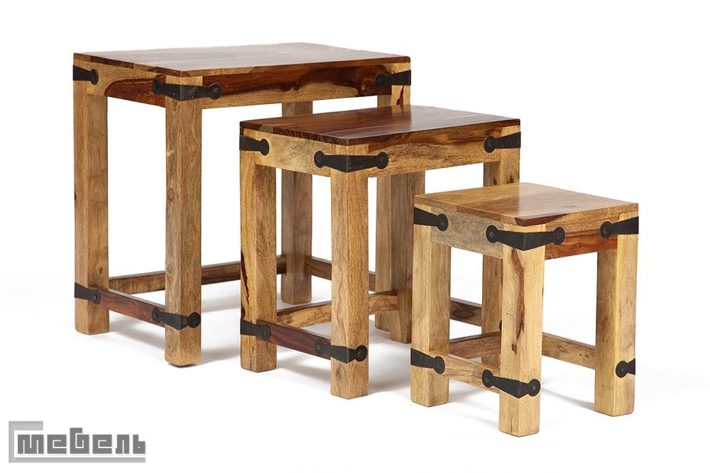 """Кофейный набор столиков """"SAP-0077"""" Бомбей"""