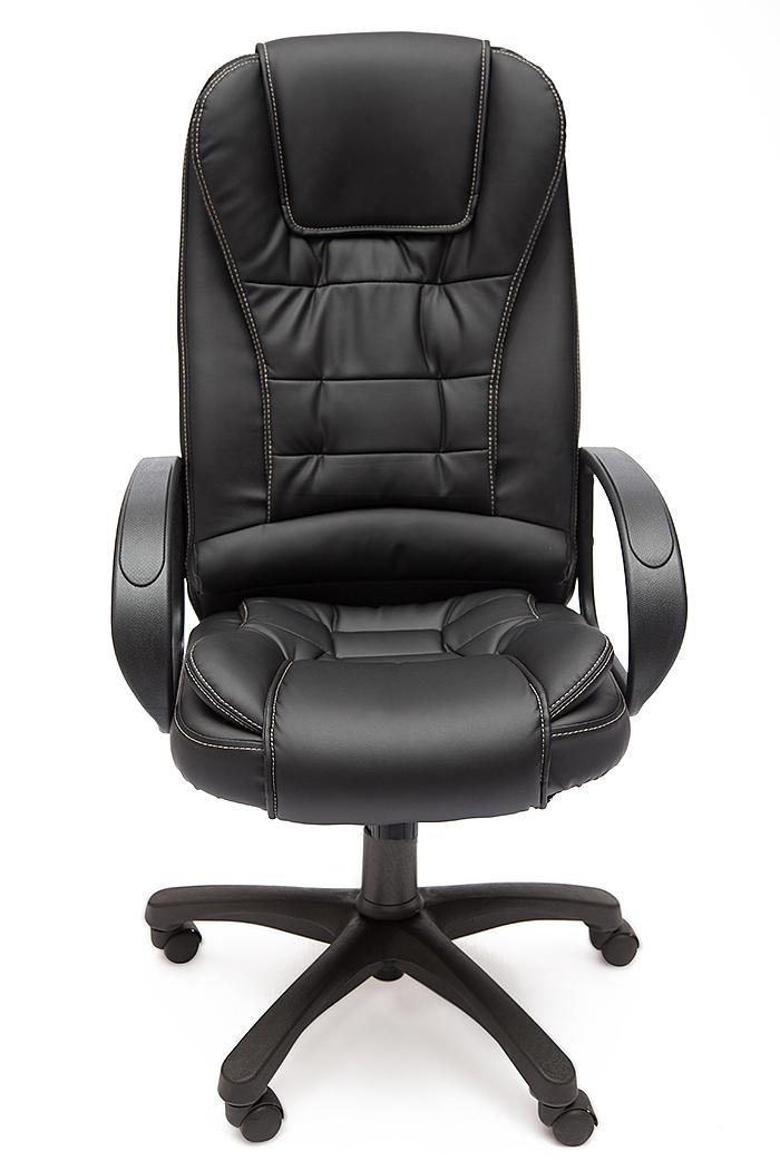 """Кресло для руководителя """"Барон СТ"""" (BARON ST) Кожзам чёрный"""