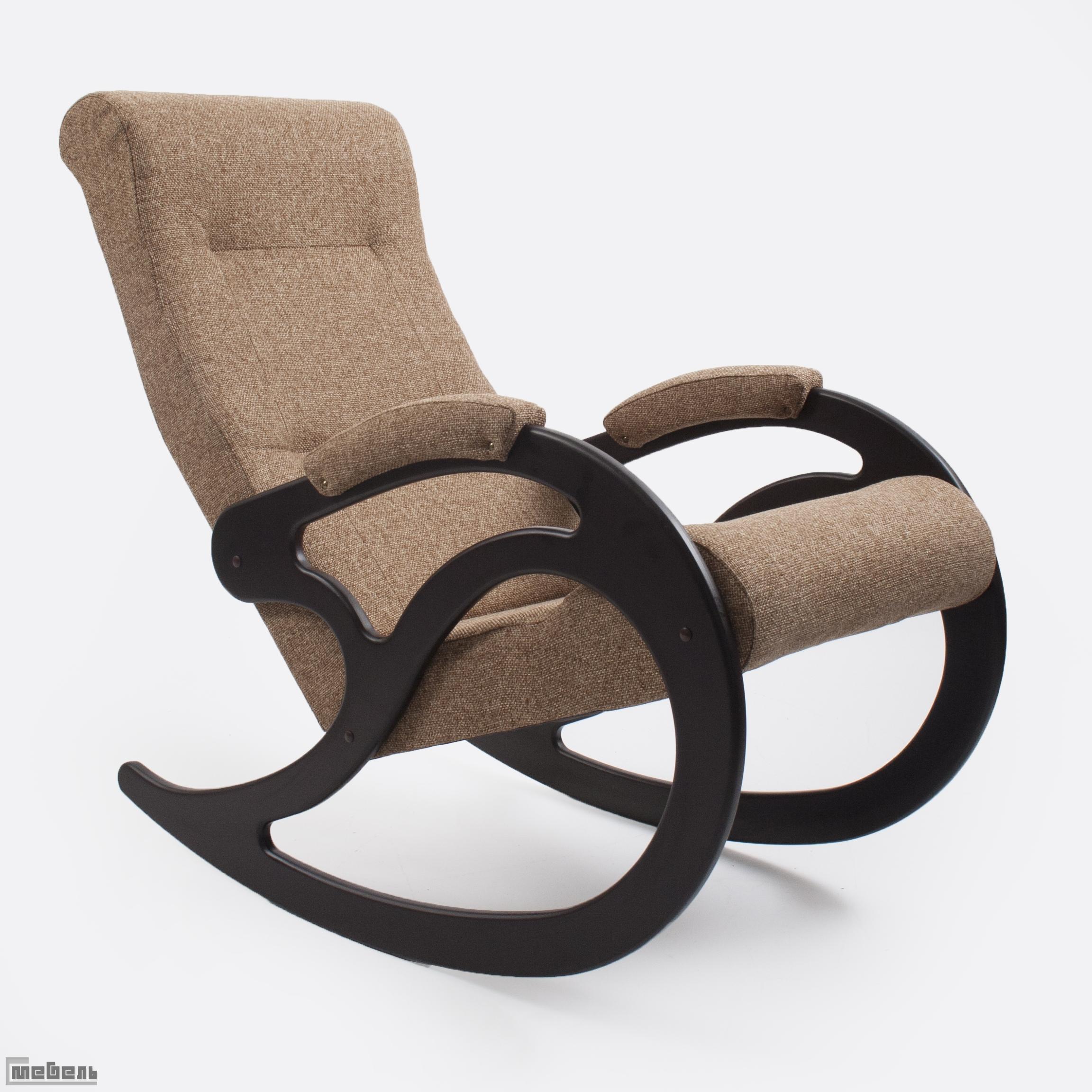 Кресло-качалка, модель 5 (013.005), ткань Мальта 17А