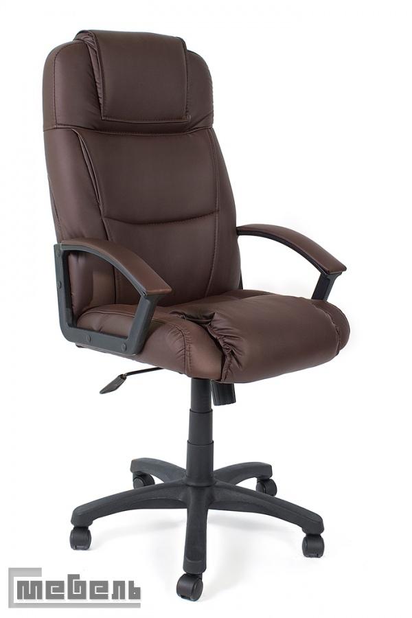 "Кресло для руководителя ""Бергамо"" (Bergamo) крестовина пластик"