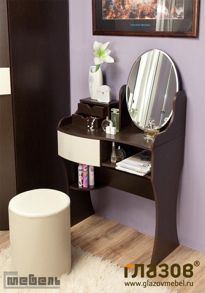 "Туалетный стол ""Амели 14"" с зеркалом"