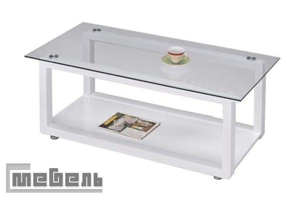 "Кофейный столик ""6200 WT"" (Белый)"