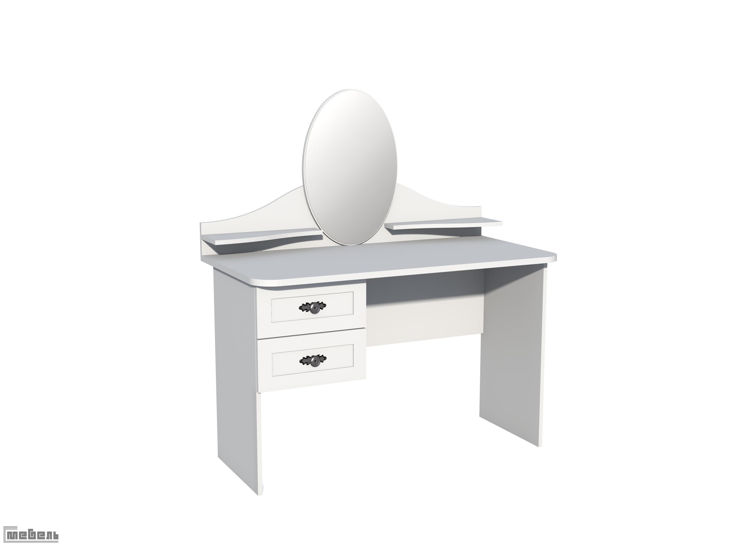 НМ 011.09-01 Стол туалетный 2-01 - ЛДСП + МДФ