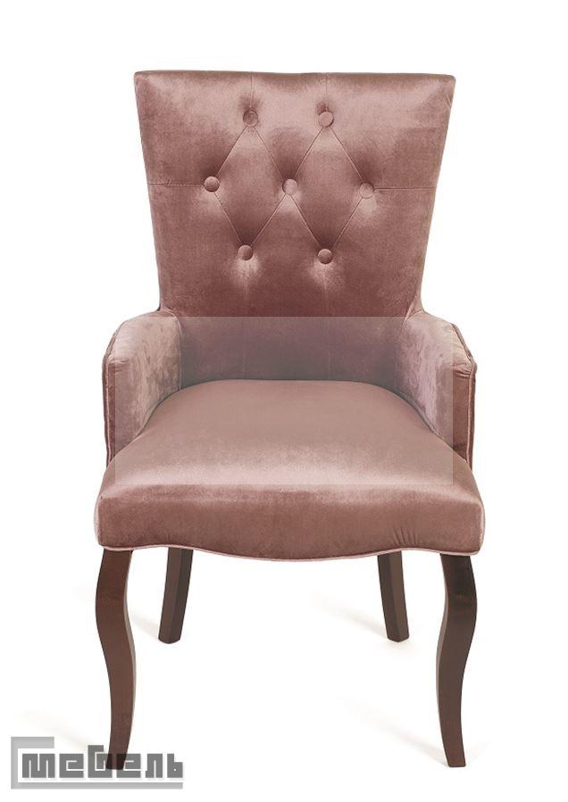 Кресло Виктория (тёмный тон/24-розовый)