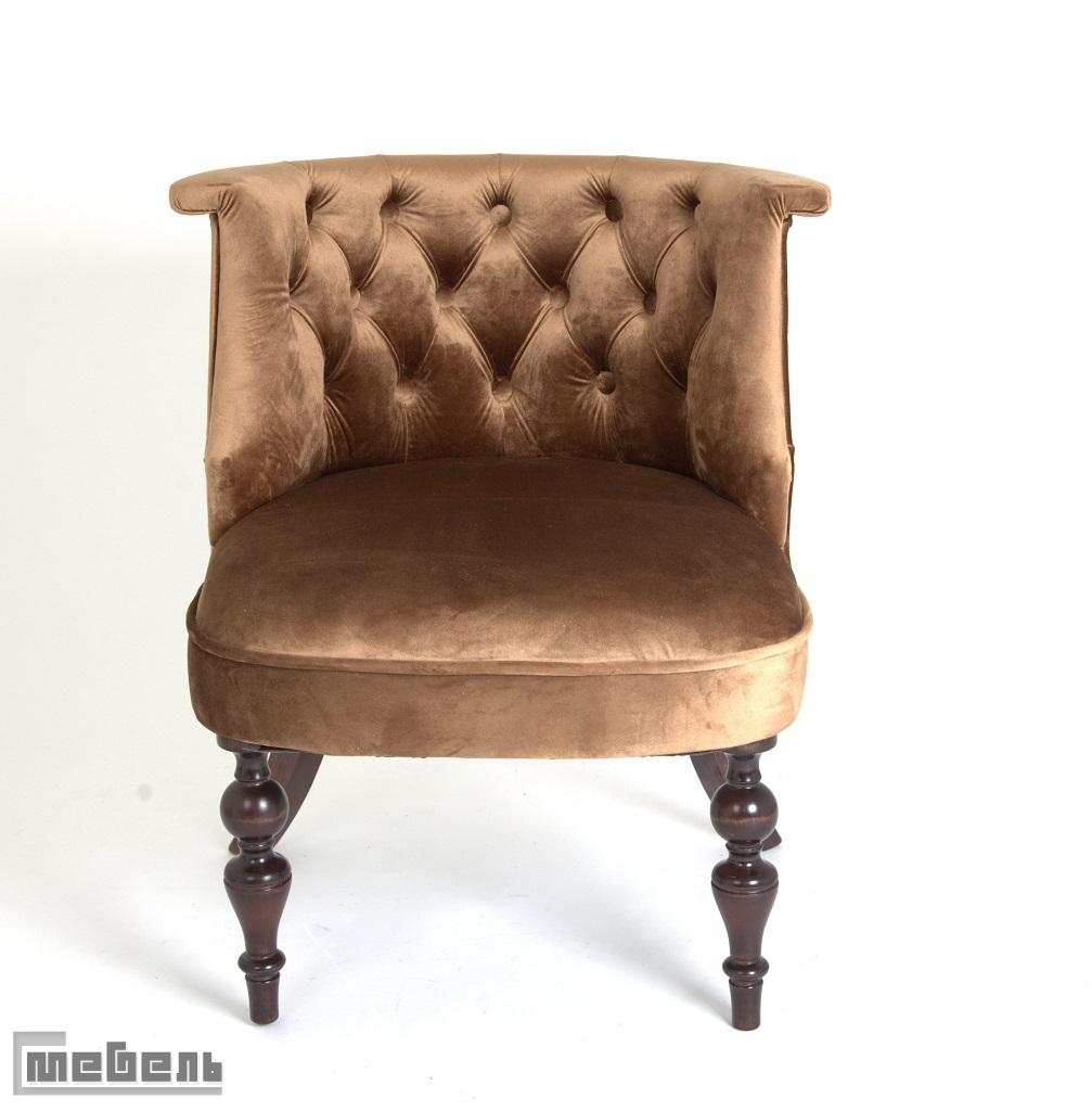 Кресло Бархат (тёмный тон/6-шоколад)