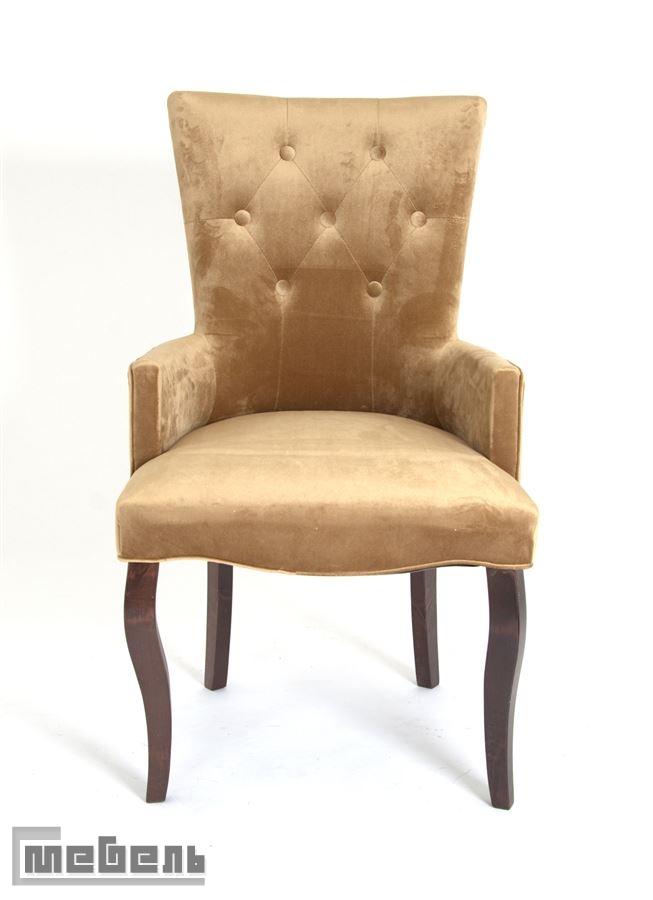 Кресло Виктория (тёмный тон/5-золото)