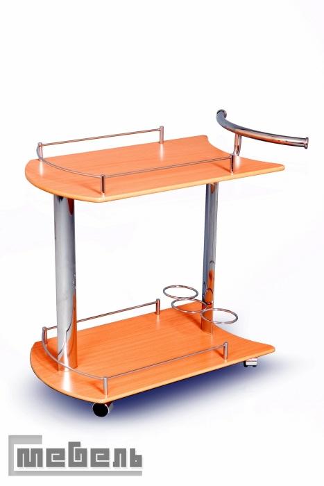 """Сервировочный столик на колёсиках  """"SC 5066-WD"""" (Натуральный)"""