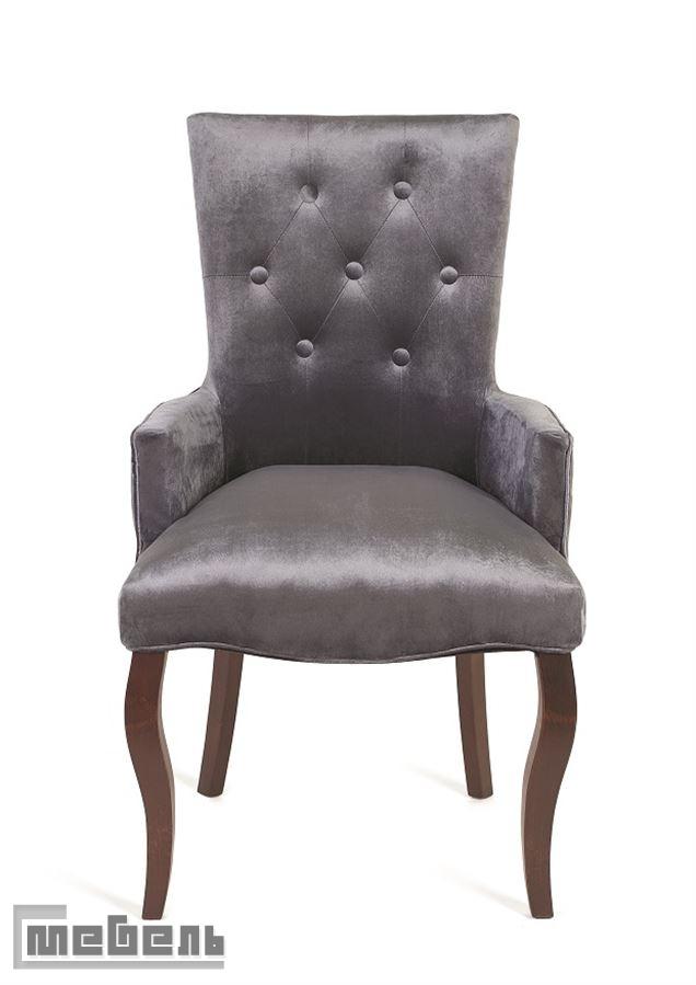 Кресло Виктория (тёмный тон/36-голубовато-серый)