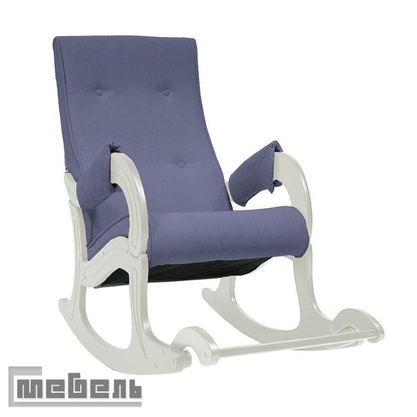 Кресло-качалка, модель 707, Ткань denimBlue