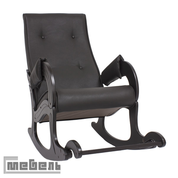 Кресло-качалка, модель 707, экокожа Орегон 108