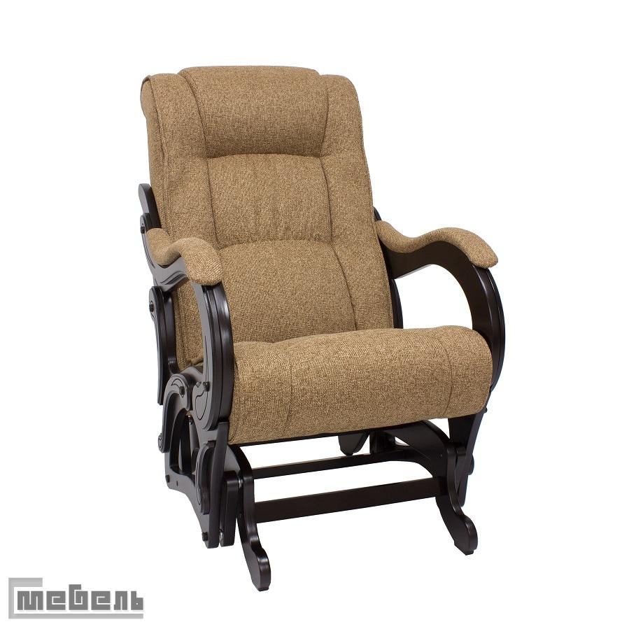 """Кресло-качалка глайдер модель 78, ткань рогожка: """"Malta 17A"""""""