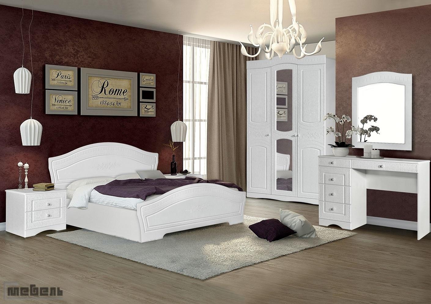 "Спальня ""Шарлота"" (модульная) - Комплектация №2"