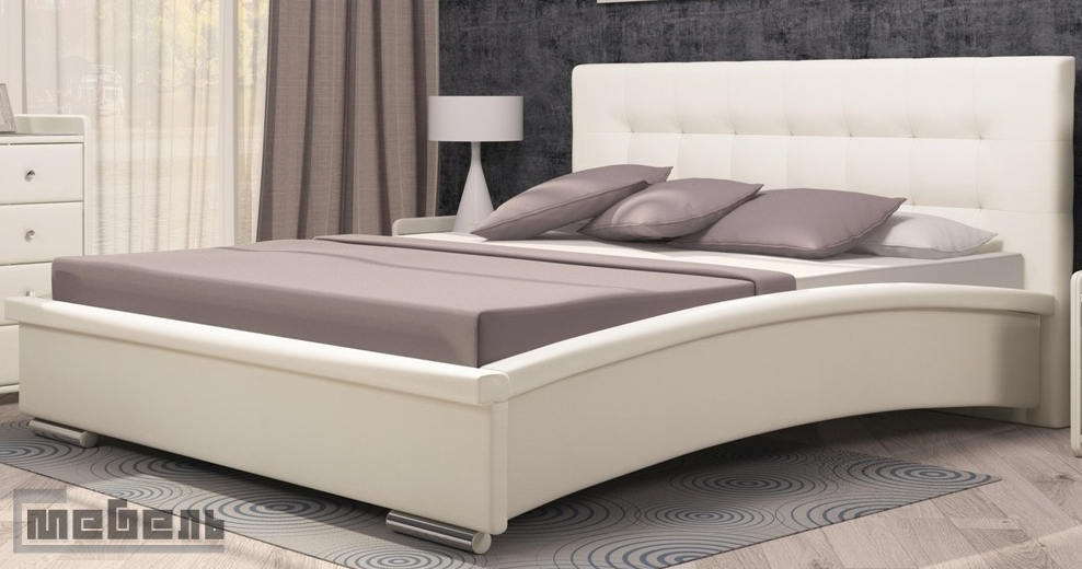 """Кровать (04) """"Луиза"""" 1600 х 2000 мм. с орт. основанием, подъёмным механизмом и ящиком для белья, без матраца"""