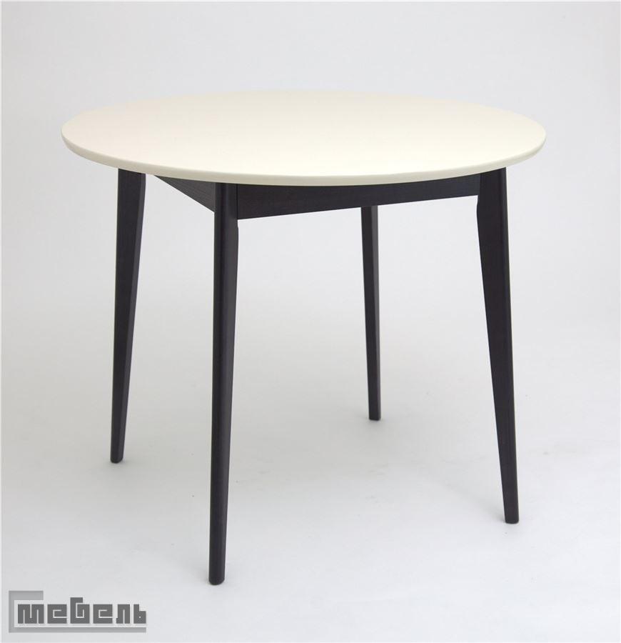 Стол обеденный Рэй-D 900 (Венге/Слоновая кость 9001)