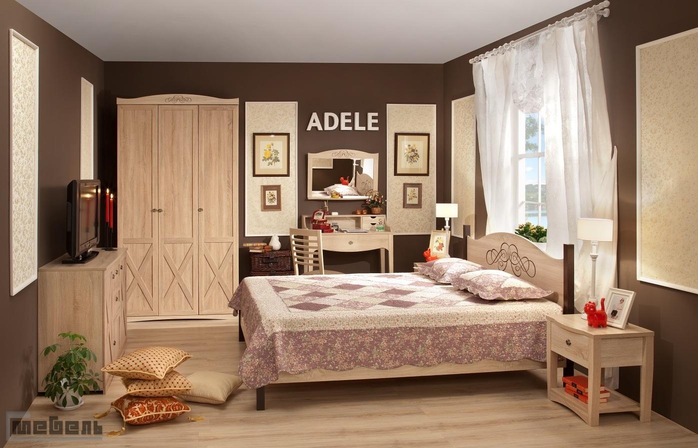 """Спальня """"ADELE"""" (модульная) - Комплектация № 2"""