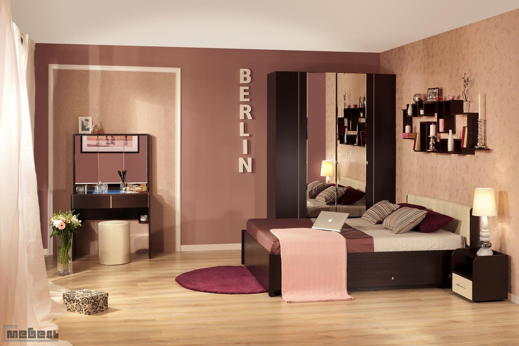 """Спальня """"BERLIN"""" (БЕРЛИН) (модульная) - Комплектация № 2"""