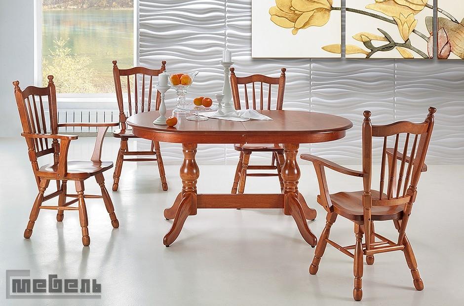 """Обеденная группа """"Гранд-3"""" (стол + 4 стула с подлокотниками """"Гранд"""")"""