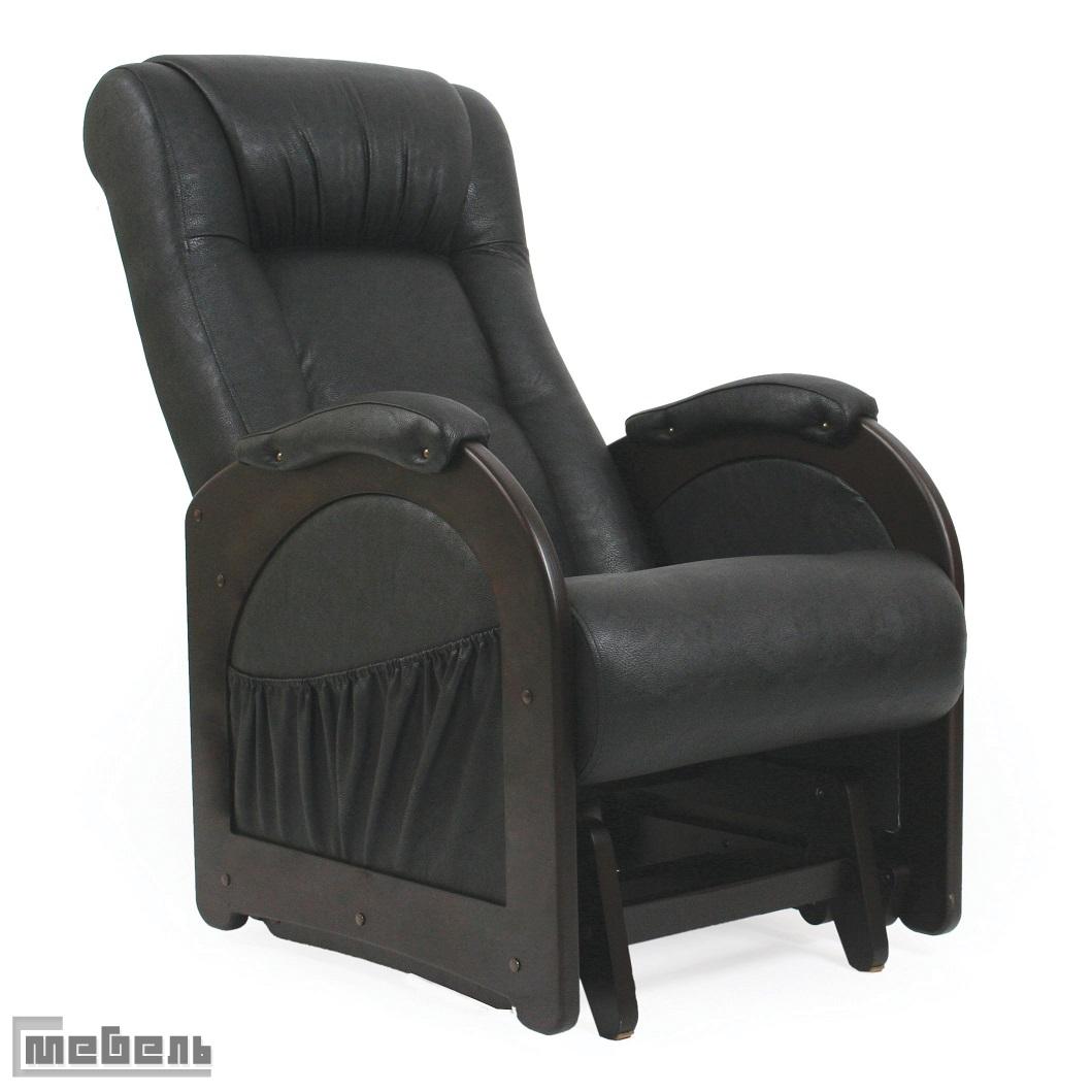 """Кресло-качалка """"Гляйдер"""" модель 48 (013.0048) Эко кожа Дунди 109, без """"Лозы"""""""