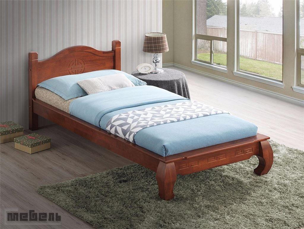 "Кровать односпальная ""Саманта"" (900 х 2000 мм.) Dominic Oak"