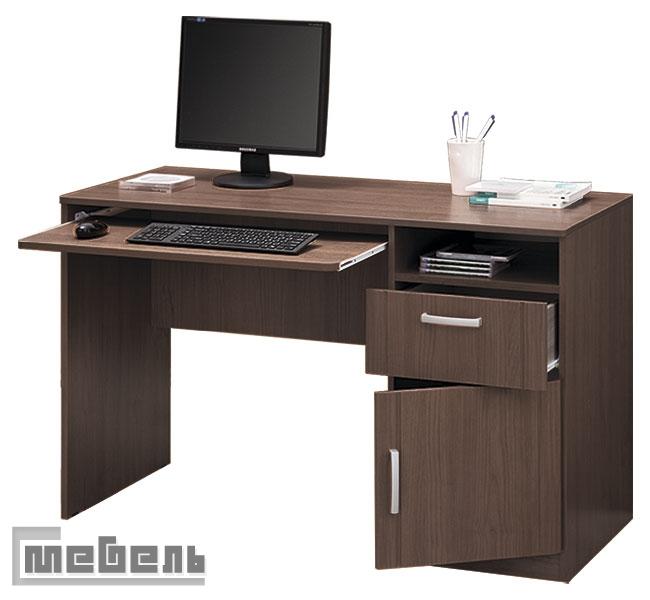 """Компьютерный стол """"Боровичи"""" 10.01 с тумбой"""