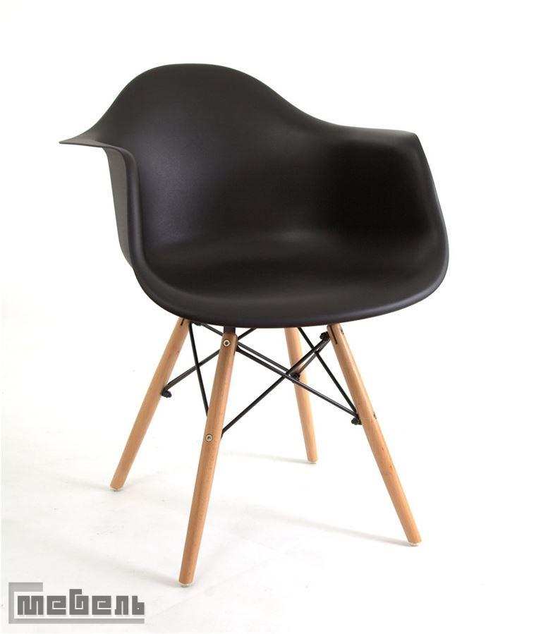 Стул пластиковый 620-PL (BLACK 04)