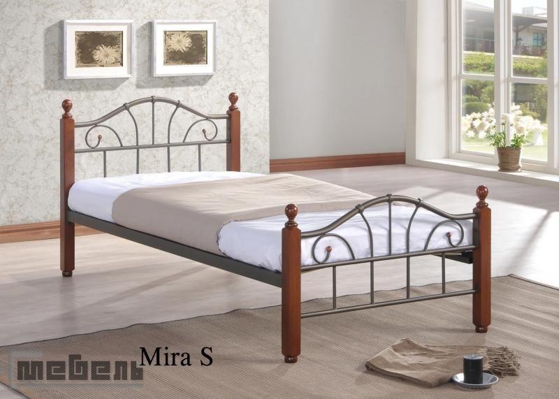 """Кровать односпальная """"Мира"""" (900 х 1900 мм.)Тёмный дуб"""