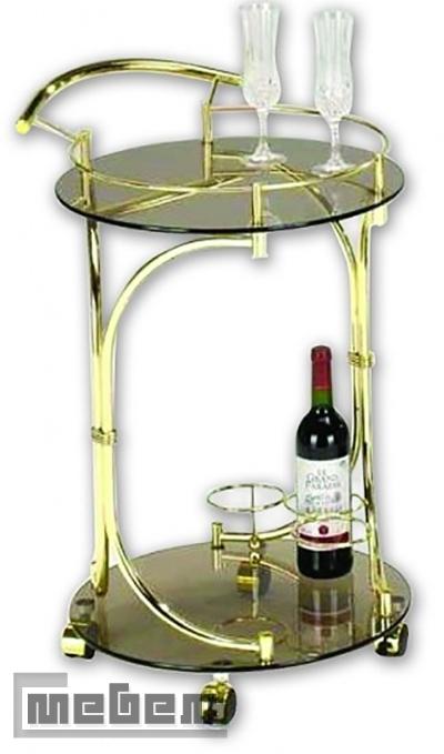 """Сервировочный столик на колесиках """"SC-5088-G"""" (Тёмно-коричневый)"""