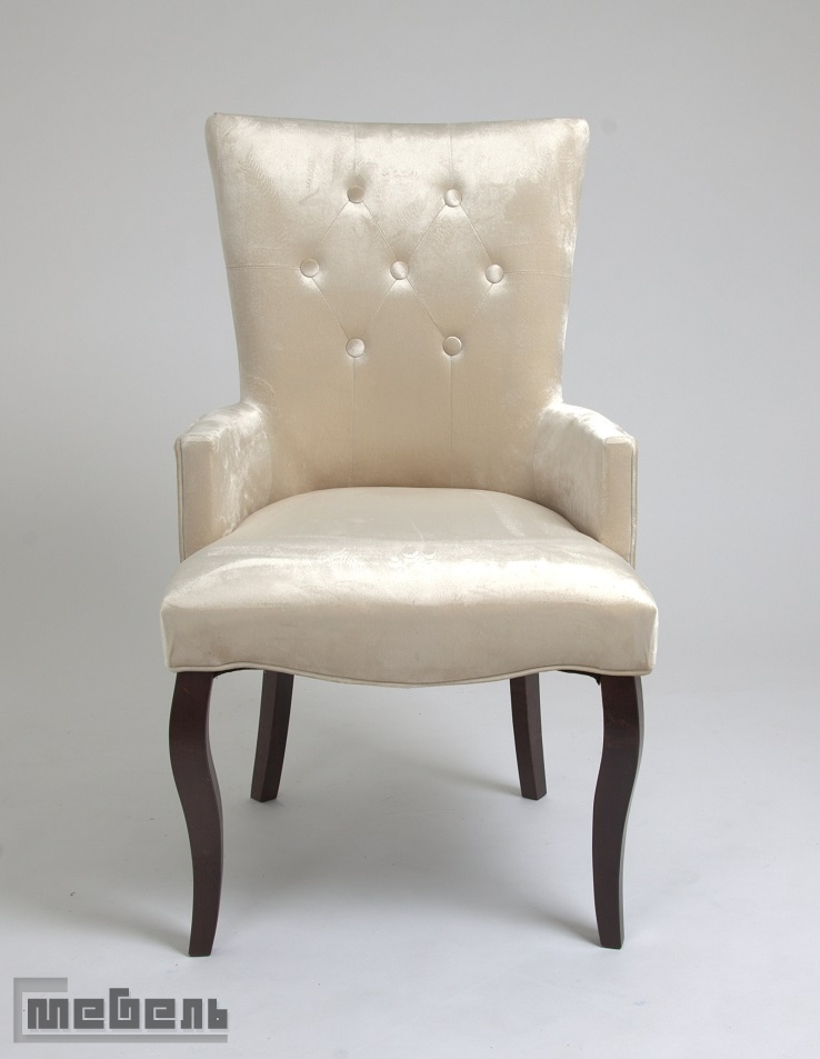 Кресло Виктория (тёмный тон/3-бежевый)